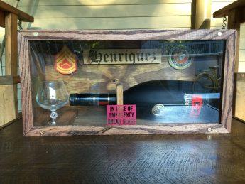 In Case of Emergency Liquor Bottle Display Box