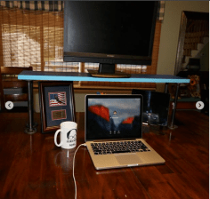 WoodyThings Desk Riser 4