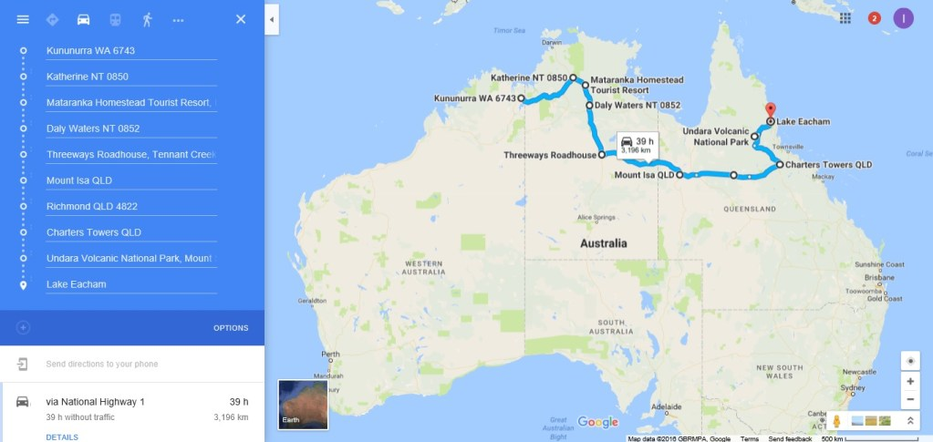 Road Trip Cross Country Australia