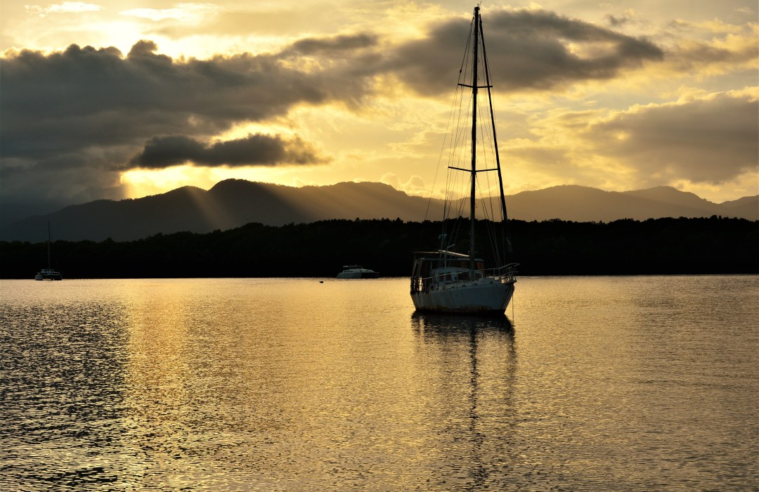 One of the top 10 things to do in Cairns : The harbour Sunset Cruise