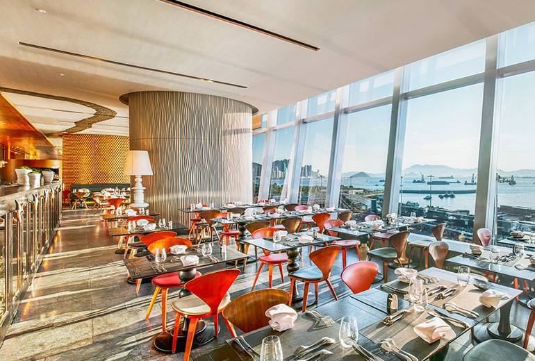 hotel with kitchen hong kong counter options luxury lunch treat at w s restaurant asia hotels