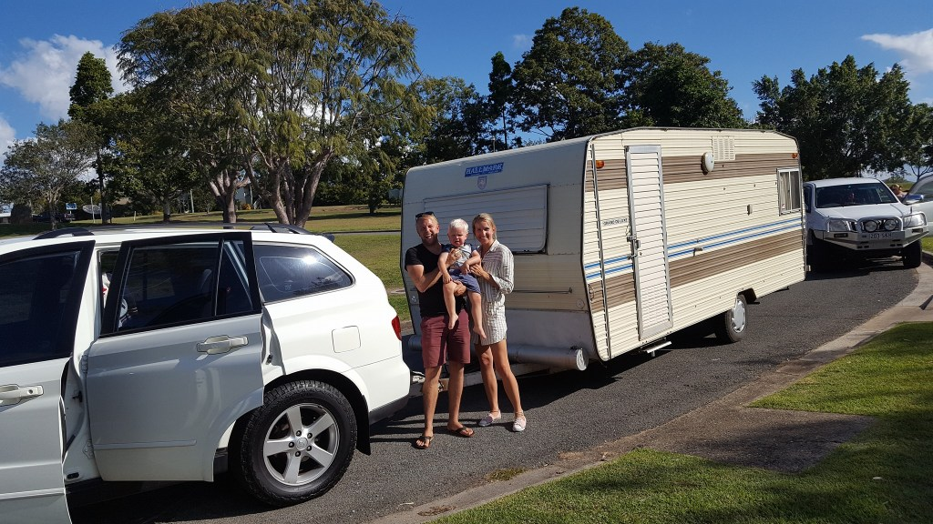 Renovating and living in a caravan around Australia