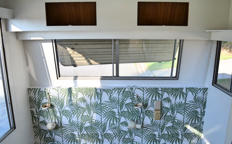 Life on the Road   DIY Caravan Renovation   Paint & Wallpaper is all ...