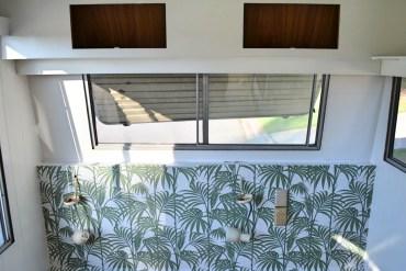 DIY Caravan Renovation Wallpaper and Paint