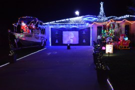 Christmas Decorated Houses Airlie Beach and Proserpine