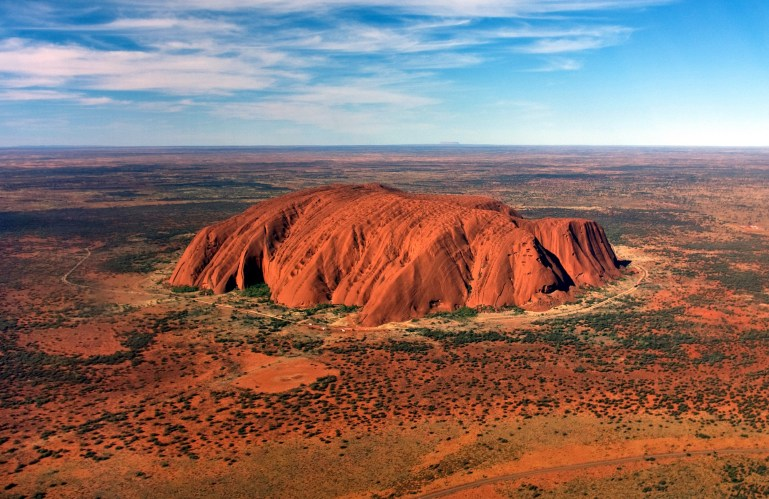 The Red Centre - Ayers Rock/Uluru Via Almendron.com