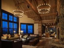 Mountain Contemporary Ranch Style Home Interiors