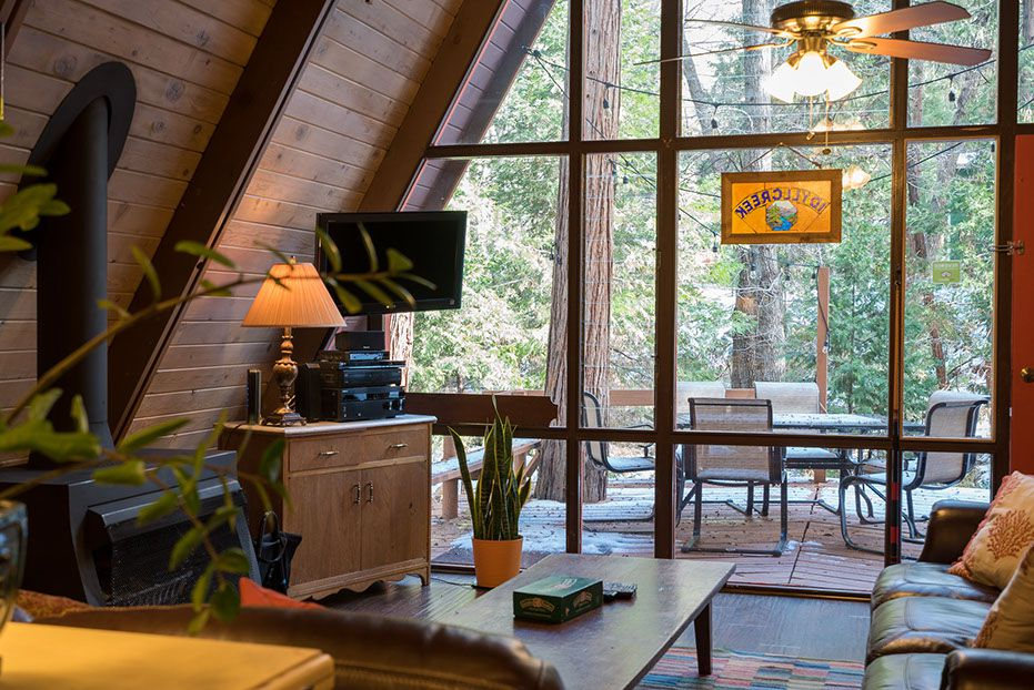 Unique AFrame Cabin in the Mountains  Woodz
