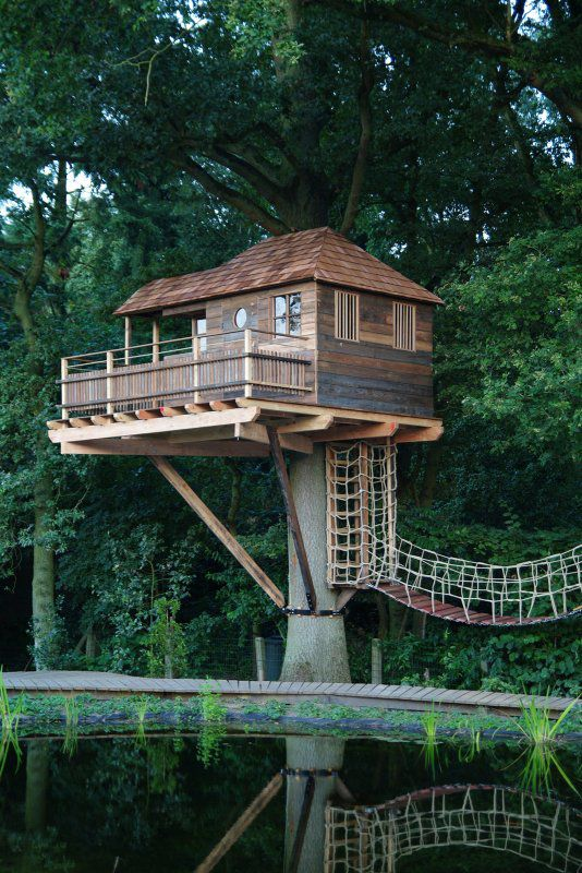 14 Tree House Ideas Woodz