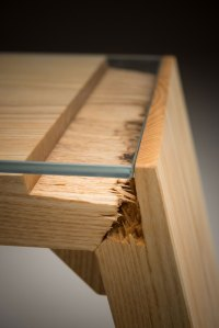 Salvaged Wood and Glass Turned Into Awesome Furniture | Woodz