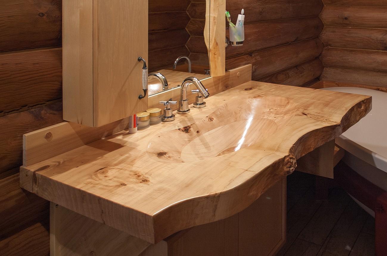 Wooden Sink 1  Woodz