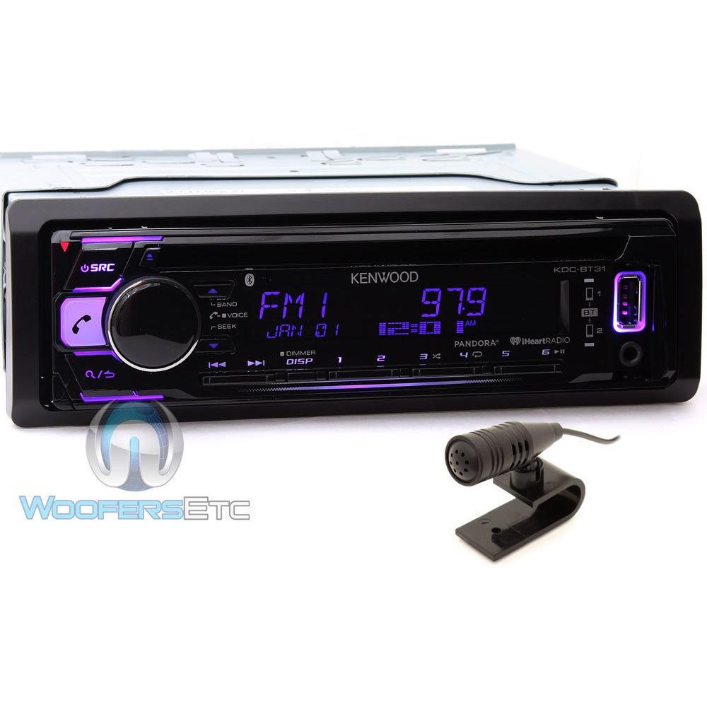 Kenwood KDC-BT31 In-Dash 1-DIN CD/MP3 Car Stereo Receiver