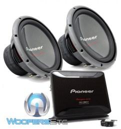 pkg pioneer gm d9601 monoblock 2400w max class d car amplifier pair of ts w3003d4  [ 1000 x 1000 Pixel ]