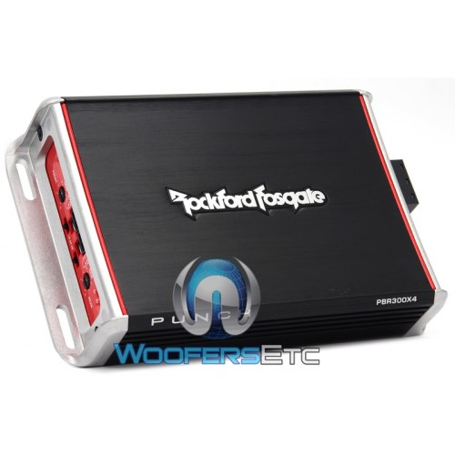 small resolution of rockford fosgate pbr300x4 4 channel 300 watt punch series booosted rail motorcycle amplifier