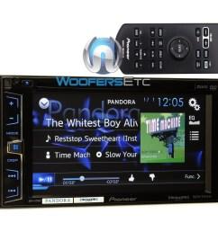 avh x1700s pioneer 2 din in dash 6 2 touchscreen lcd display [ 1000 x 1000 Pixel ]