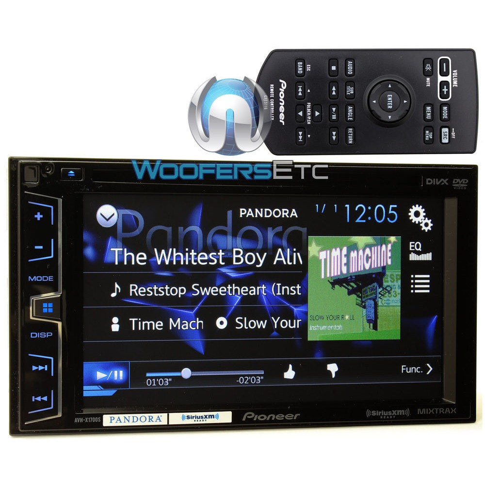 hight resolution of avh x1700s pioneer 2 din in dash 6 2 touchscreen lcd display