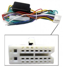 clarion harness clarion video 16 pin wire harness for multimedia dvd receivers [ 1000 x 1000 Pixel ]