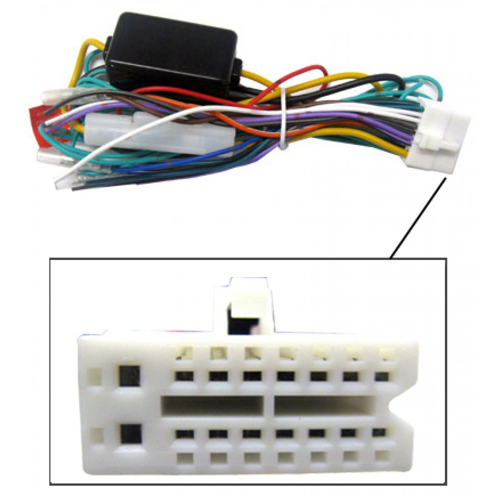 hight resolution of clarion harness clarion video 16 pin wire harness for multimedia dvd receivers