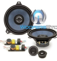 gladen one 165 bmw e46 6 5 100w rms 2 way component speakers system for  [ 1000 x 1000 Pixel ]