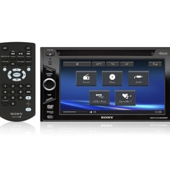 xav 60 sony double din 6 1 tft lcd touchscreen monitor w dvd receiver with usb ipod controls [ 1000 x 1000 Pixel ]