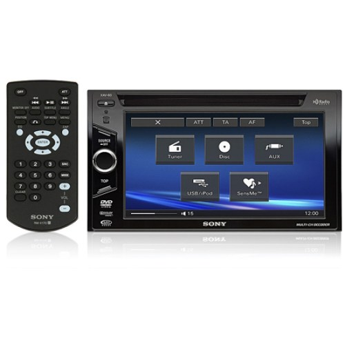 small resolution of xav 60 sony double din 6 1 tft lcd touchscreen monitor w dvd receiver with usb ipod controls