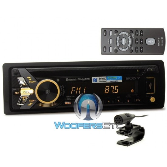 sony mex n5000bt radio wiring diagram 220 volt plug in dash cd mp3 wma bluetooth car stereo receiver with nfc one touch pairing