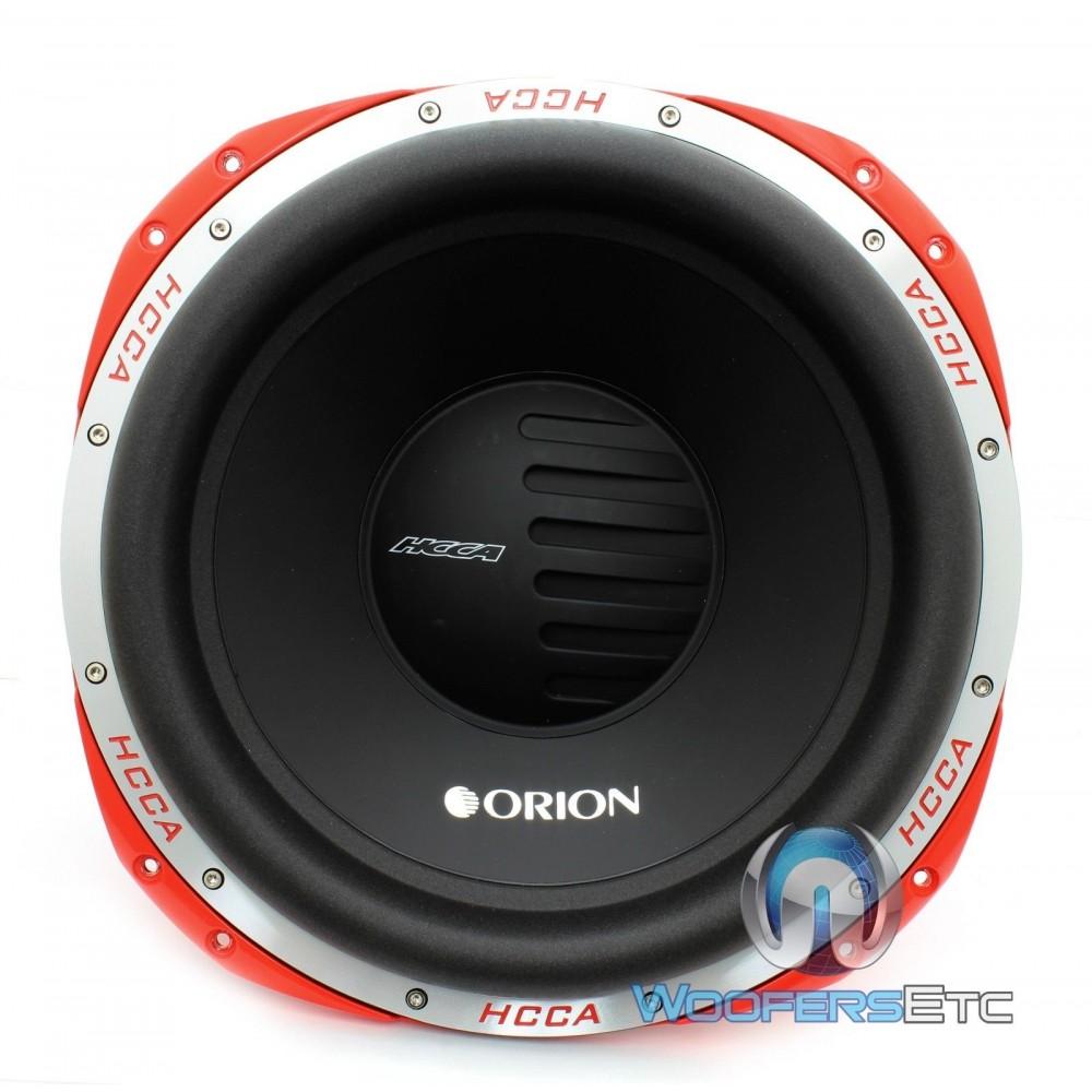 Hcca154 Orion 15 Quot 4000 Watt 4 Ohm Dvc Subwoofer