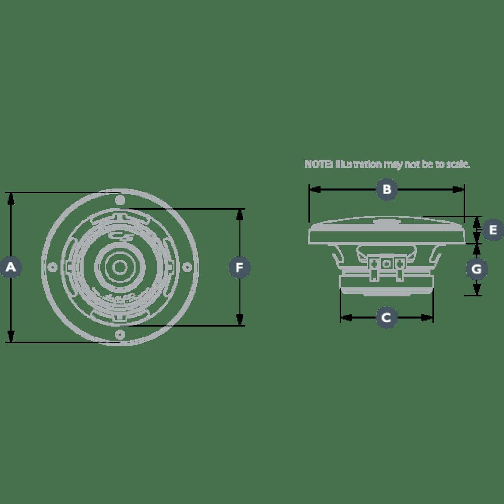 Pair of JL Audio C5-400CM-RP Evolution 4 Inch Mid-Range