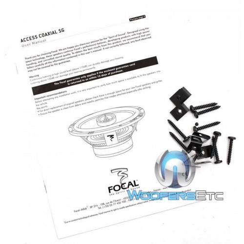pkg Focal FPP-5300 5-Channel Amplifier + 165A1 SG 6.5