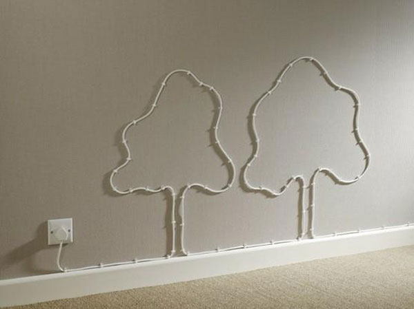Different Electrical Wiring 20 Creative Diy Ideas To Hide The Wires In The Wall Room
