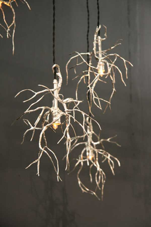 Rustic Tree Branch Chandeliers 31