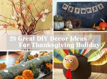 28 Great DIY Decor Ideas For The Best Thanksgiving Holiday ...