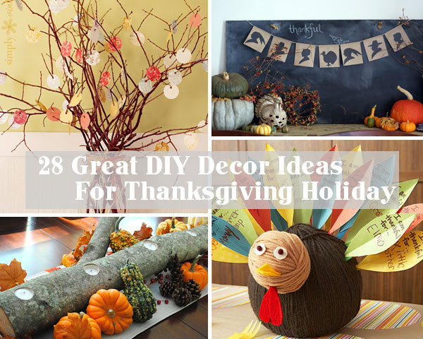 Diy Quick Thanksgiving Decor Idea By Alice Lois For Julep