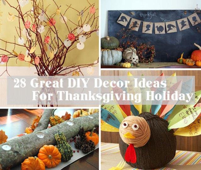 Diy Decoration For Thanksgiving 0