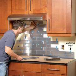 Kitchen Wall Splash Guard Cabinet Manufacturers Canada Top 30 Creative And Unique Backsplash Ideas ...