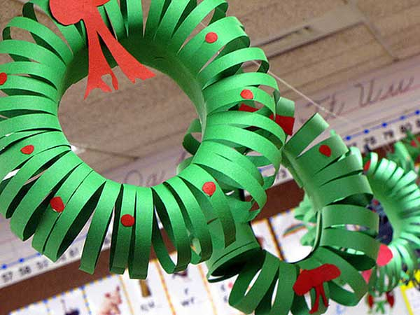 Making Paper Snowflakes And Garlands Charming Handmade Christmas Decorations