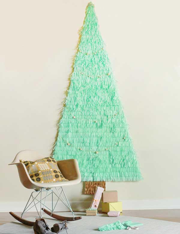 View In Gallery French Knitting Christmas Tree Ornaments Wonderfuldiy F