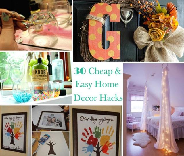 Genius Home Decor Ideas