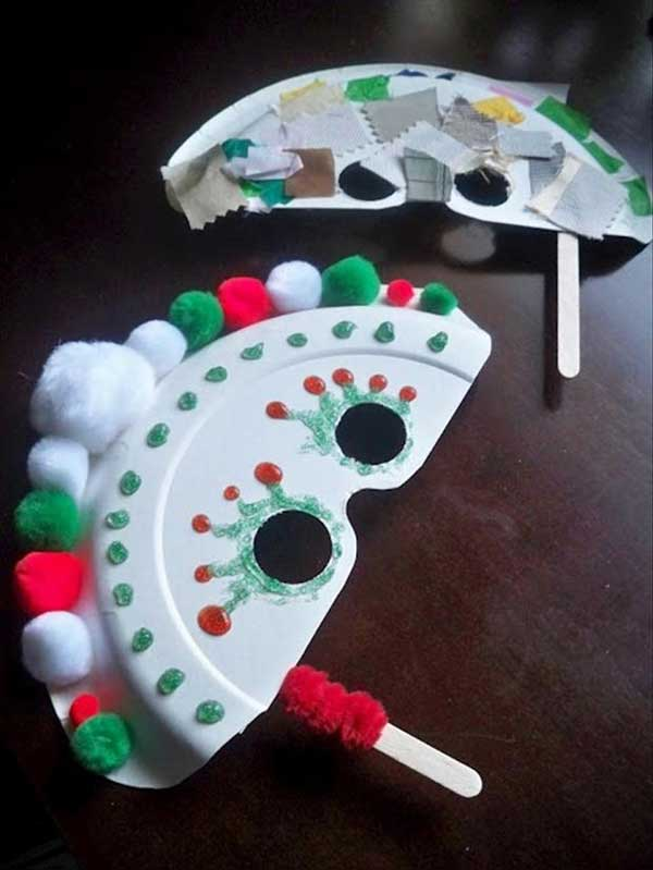 42 Adorable Christmas Crafts to Keep Kids Busy this