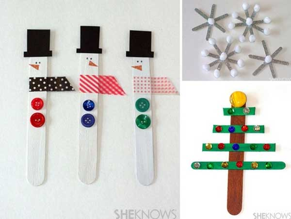 kitchen wire storage hickory cabinets 42 adorable christmas crafts to keep kids busy this ...