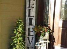 40 Cool DIY Decorating Ideas For Christmas Front Porch ...
