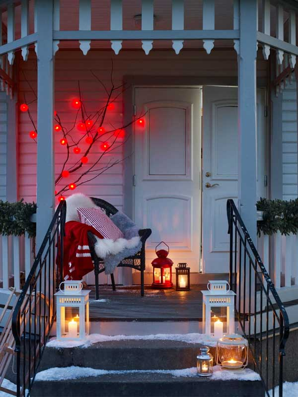 Front Porch Christma Decorations Amazing Idea Outdoor Christmas Ideas