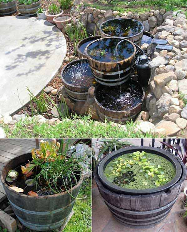 25 Brilliant DIY Ways of Reusing Old Wine Barrels