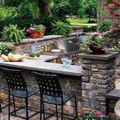 Outdoor Kitchens Ideas Replacement Kitchen Cabinets For Mobile Homes 哓气婆 户外厨房的想法让你享受你的空闲时间 新浪博客 1