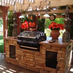 Outdoor Kitchens Ideas Kitchen Counters And Backsplash 哓气婆 户外厨房的想法让你享受你的空闲时间 新浪博客 15