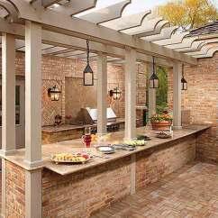 Outdoor Kitchens Ideas Kitchen Backyard Design 哓气婆 户外厨房的想法让你享受你的空闲时间 新浪博客 2 4
