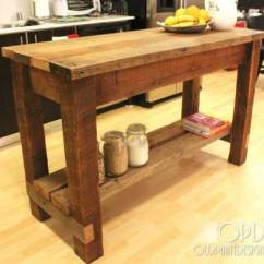 Simple Kitchen Island Trash Bin 32 Rustic Homemade Islands Amazing Diy Interior 10
