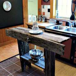 Simple Kitchen Island Door Hardware 32 Rustic Homemade Islands Amazing Diy Interior 2