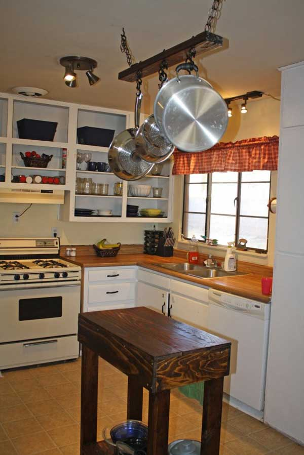 country kitchen islands small buffet 32 simple rustic homemade amazing diy interior 5