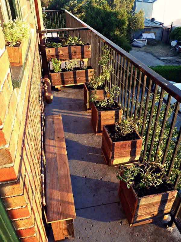 30 Inspiring Small Balcony Garden Ideas Amazing Diy Interior Home Design